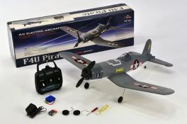 F4U Brushless 4ch Aerobatic RC Airplane RTF