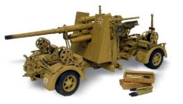 21st WWII German 88mm Gun Flak 36/37 1/18