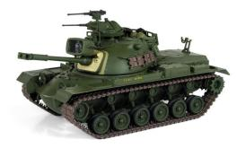 21st 1/18 USMC M48A3 Patton Medium Tank with Searchlight