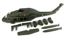 HeliArtist UH-60 Fuselage For 500 Class RC Helicopter