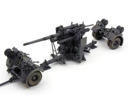 Forces of Valor FOV German 88mm Flak Gun-5 Man Crew #80013