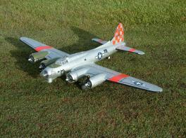 Freewing B-17 EPO PNP Version With Electric Retract System