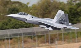 Lanxiang F22 Twin 70mm Vector Thrust EDF Jet Airplane Kit