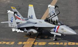 Lanxiang F/A-18F Twin 70mm Vector Thrust EDF Airframe Kit