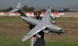 Tiansheng C-17 55mm EDF Jet RC Airplane ARF PNP