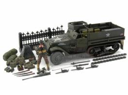 Forces of Valor FOV 1/32 US M3A1 Half Track #80063