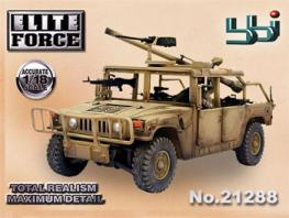 BBI 1/18 Marine Division Humvee Military Vehicle #21288