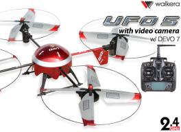 Walkera UFO 5# with Camera & 2.4G DEVO 7 Quadcopter RTF