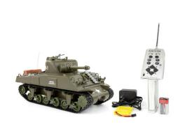 Heng Long 1:30 US M4A3 Sherman RC Tank w/ Lights & Sound RTR