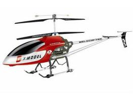 Large QS-8006 GT Model 1340mm 3.5 Channel Gyro RC Helicopter