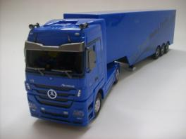 1/32 Mercedes Benz RC Tractor Trailer w/ Lights & Sound RTR