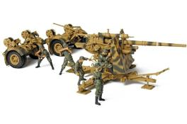 Forces of Valor FOV German 88mm Flak Gun-5 Man Crew #80070