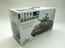 Heng Long 1/16 RC New US Army M4A3 Sherman BB Tank w/ S&S