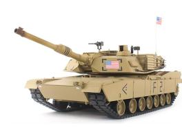 1/16 2.4Ghz RC New US Heng Long M1A2 Abrams BB Tank w/ S&S