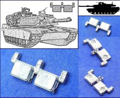 Spade Ace 1/35 Metal Track for M1A1/M1A2 Abrams Tank #35132