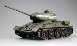 Trumpeter 1/16 New 2.4G RC Russian T34-85 IR Battle Tank RTR