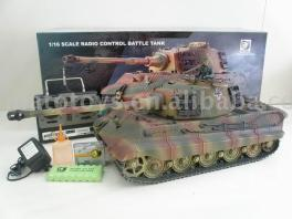 1/16 RC Germany King Tiger Tank with Henschel Turret S&S BB