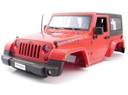 1/10 Scale RC Jeep Wrangler Rubicon Hard Plastic Body Kit