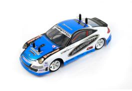 Mini-Q 1:28 2.4GHz RC 4WD Car (Upgrade Carbon Chassis)