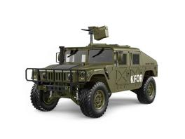 HG P408 1/10 2.4G 4WD 16CH RC US Humvee Military Vehicle